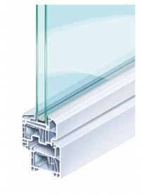 Kömmerling 70 kuntúr műanyag ablak