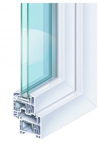 Kömmerling 70 műanyag ablak