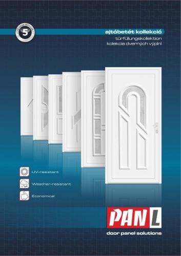 Kömmerling műanyag bejárati ajtó 1