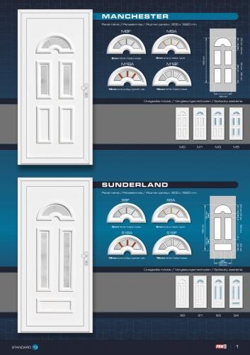 Kömmerling műanyag bejárati ajtó 3