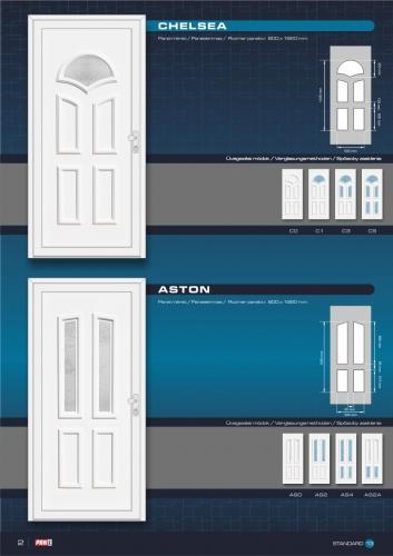 Kömmerling műanyag bejárati ajtó 4