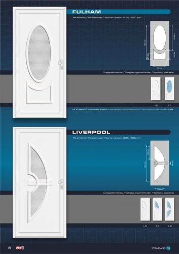 Kömmerling műanyag bejárati ajtó 8