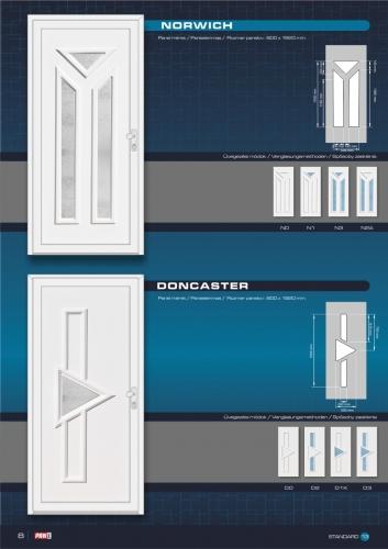 Kömmerling műanyag bejárati ajtó 10