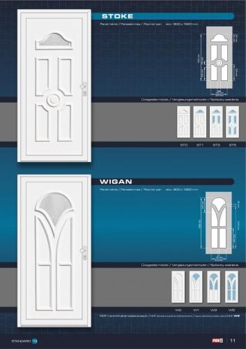 Kömmerling műanyag bejárati ajtó 13