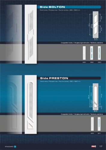 Kömmerling műanyag bejárati ajtó 19