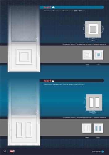 Kömmerling műanyag bejárati ajtó 20