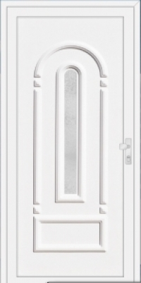 CHRYSTAL CR1 műanyag bejárati ajtó